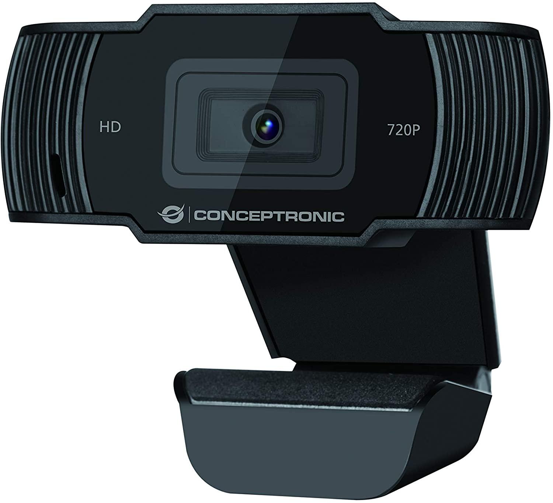 WebCam Conceptronic AMDIS 720P HD Webcam con Micrófono