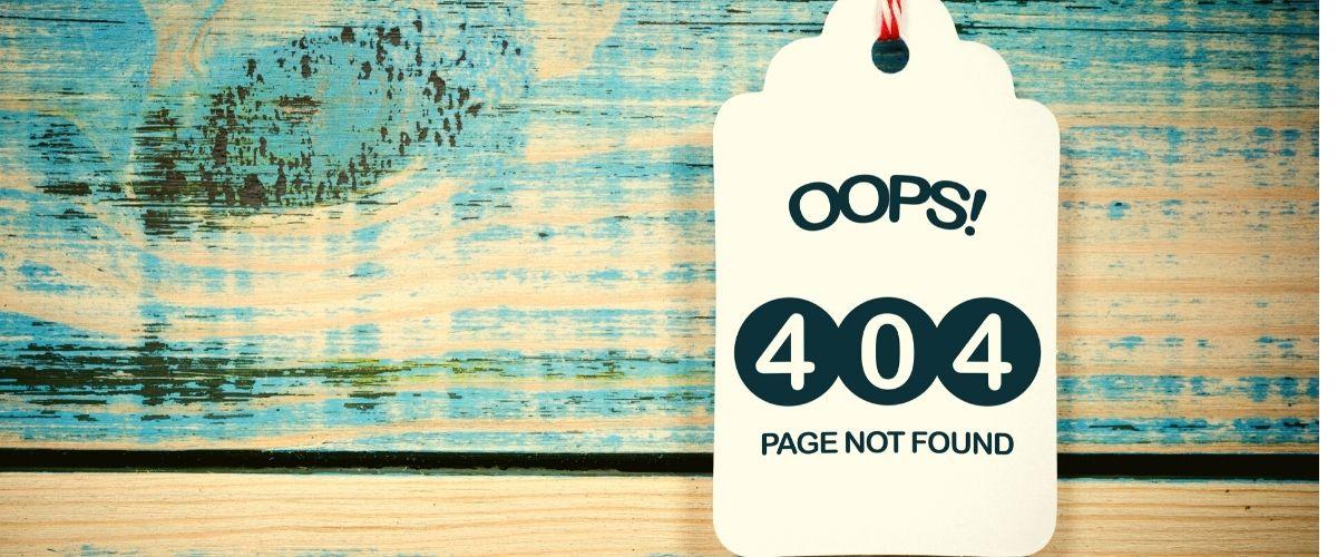 """Solventar el """"error 404"""" con rapidez y eficiencia"""