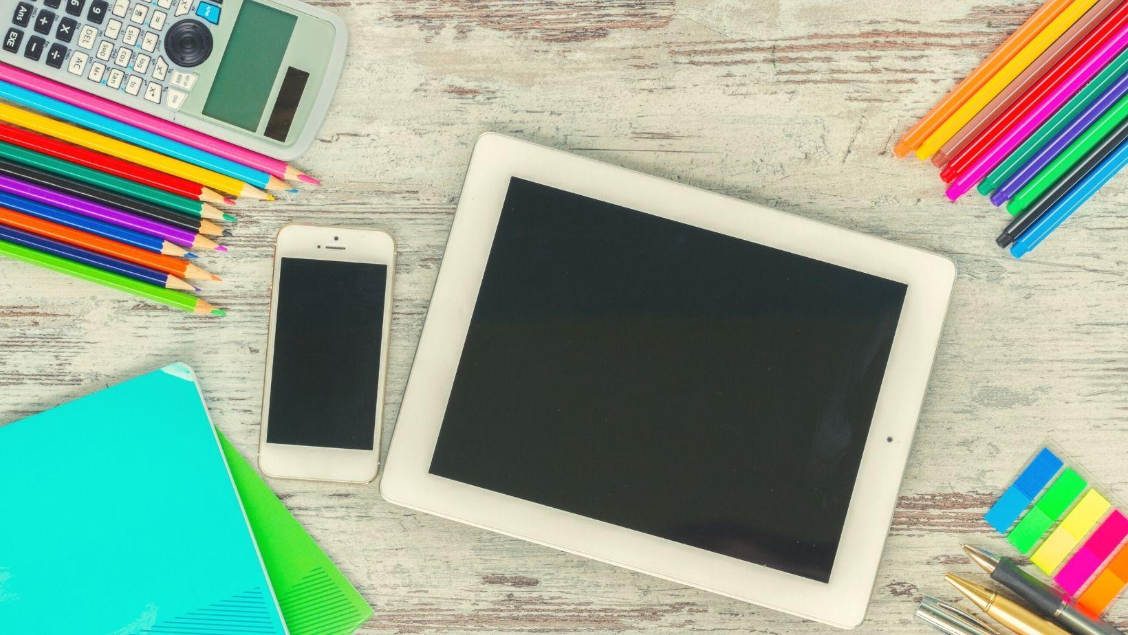 Útiles escolares electrónicos para la vuelta a clases